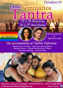 Exótic Tantra, Seminarios. Para la comunidad #LGBTIQ @ Barcelona | Cataluña | España