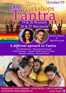 Exótic Tantra, Workshops. For the #LGBTIQ Community @ Bruselas | Región de Bruselas-Capital | Bélgica