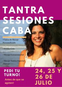 Sesiones Tantra con Romina, en CABA! @ Barbecho | Buenos Aires | Argentina